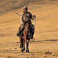 Batu op zijn paard