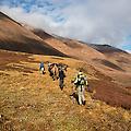 Tijdens de trekking voelen we ons soms het reisgezelschap uit The Lord of The Rings