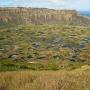 Kratermeer van de Rano Kau vukaan