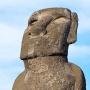 Moai bij Ahu Tongariki