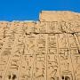muur vol hierochliefen, Karnak
