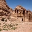 Ad Deir, het klooster, een van de mooiste monumenten van Petra