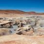 Sol de Manana, geothermisch gebied op 4900m