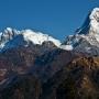 rechts de Annapurna South
