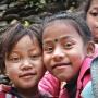 Kinderen in Ghandruk