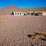 Onze hostel nabij Laguna Colorada