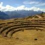 Inca terrassen van Moray