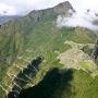 Machu Picchu gezien vanaf de berg Huayna Picchu