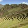 Inca ruines van Pisac