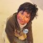 Oscar, een vrolijk mannetje in de hostel bij Laguna Colorada