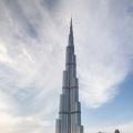 Burj Khalifa, met 828 meter het hoogste gebouw ter wereld