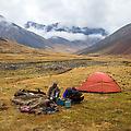 Een prachtige plek om te kamperen