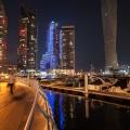 Dubai marina, de haven van Dubai