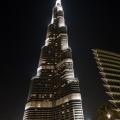 Burj Khalifa bij avond