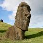 Moai bij Rano Raraku