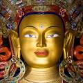 Maitreya Boeddha in Thikse klooster