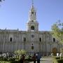 Kathedraal op Plaza d'Armas