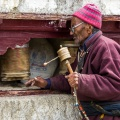 Man in Lamayuru