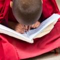 Jonge monnik in Lamayuru