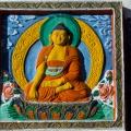 Detail van de Shanti Stupa