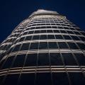 Burj Khalifa, blik naar boven vanaf het uitkijkplatform op 452m hoogte
