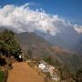 Landschap nabij Ghandruk