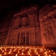 Petra by night is magisch