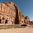 De koningswand in Petra