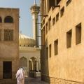 Bastakiya, oude wijk van Dubai gesticht door Iraanse handelaren